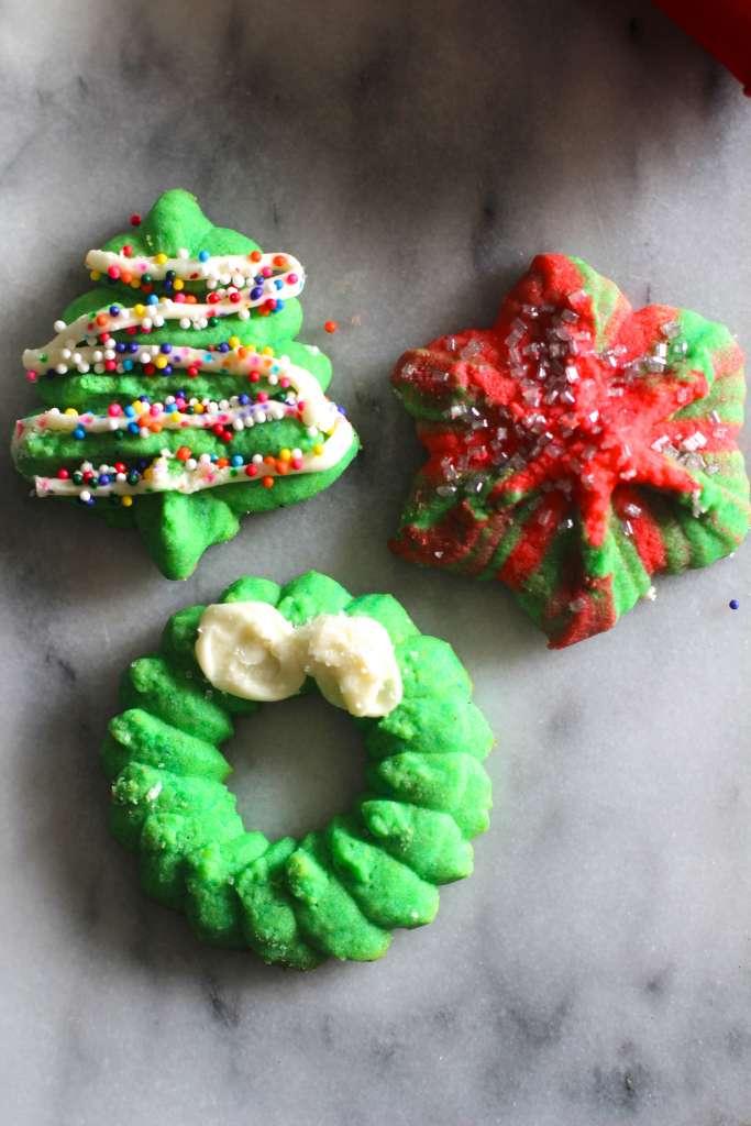 Delicious Spritz Cookies