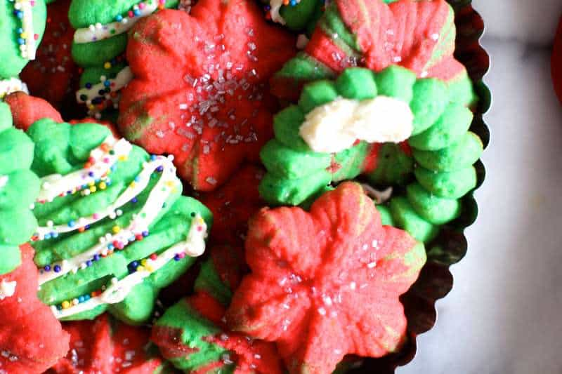 Christmas Cookie Spritz Butter Cookies