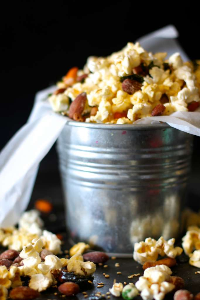 Spicy Popcorn Trailmix