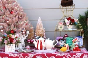 Holiday Tea and Gingerbread House Decorating Party