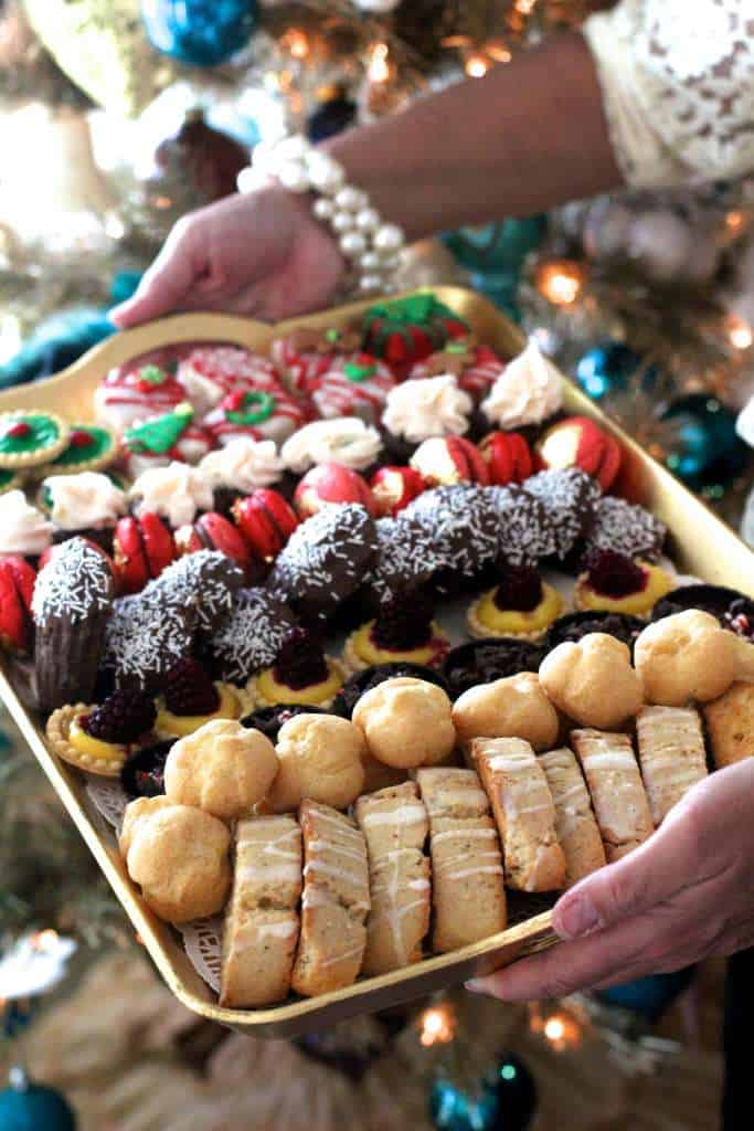 Christmas Tea Party Sweets