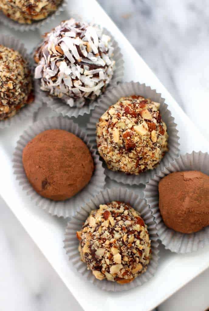 Decadent Chocolate Almond Truffles