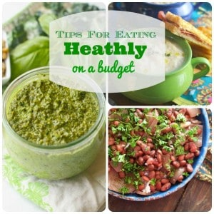 Tips For Heathy Eating on a Budget