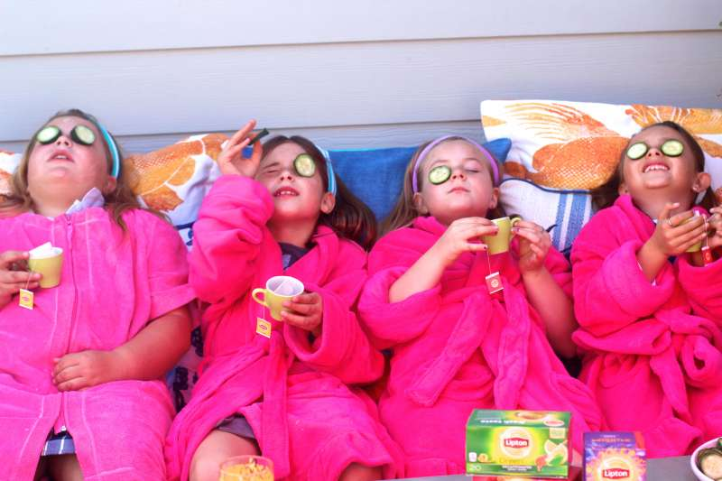 Girls Spa Day Party