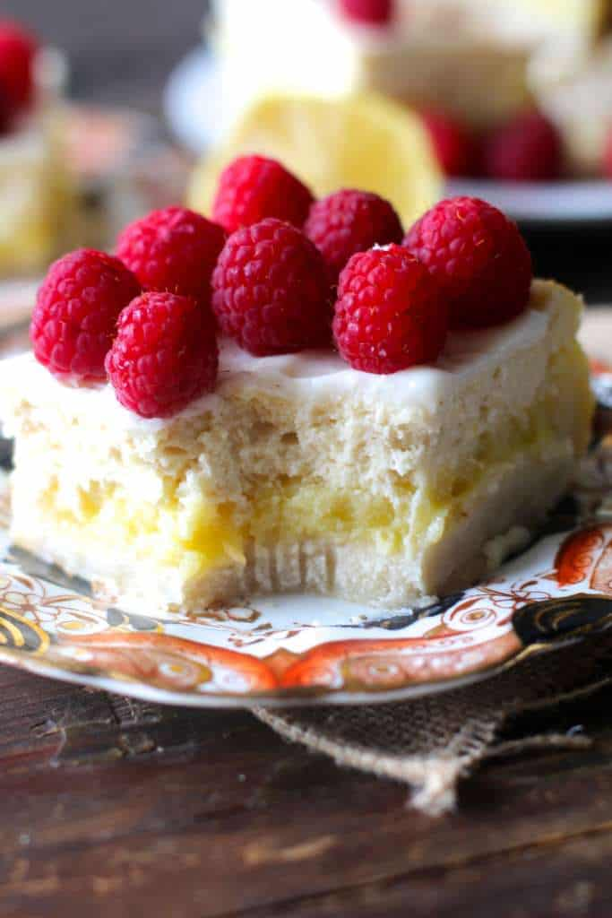 Cheesecake Lemon Bars!