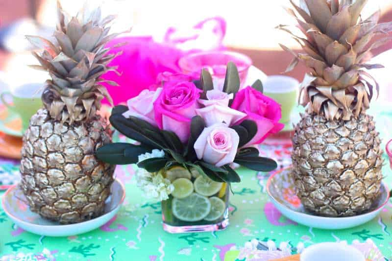 Lilly Pulitzer Style Center Piece