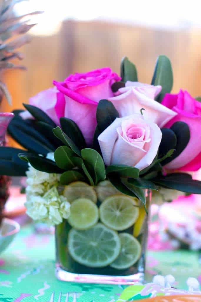 Lemon and Lime Florals