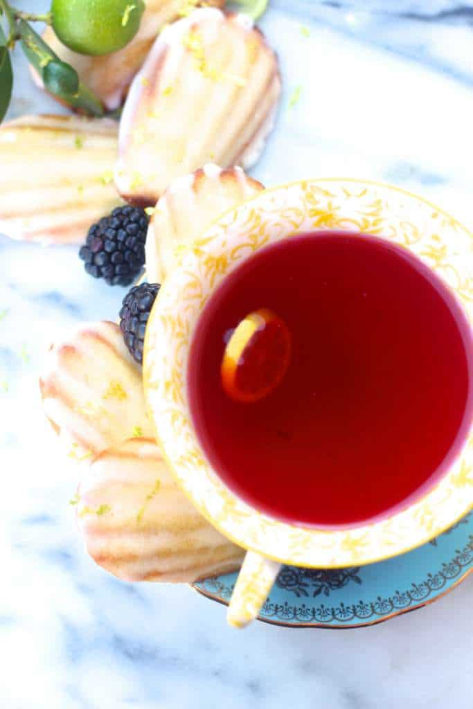 Tea and Madeleines