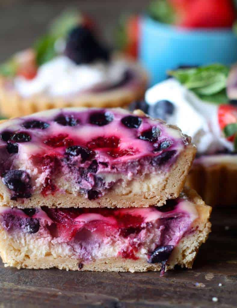 Baked Berry Tarts