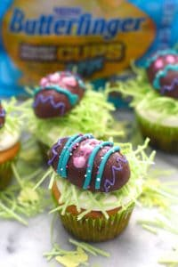 BUTTERFINGER® Easter Cupcakes