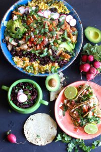 Chipotle Beans and Taco Salads
