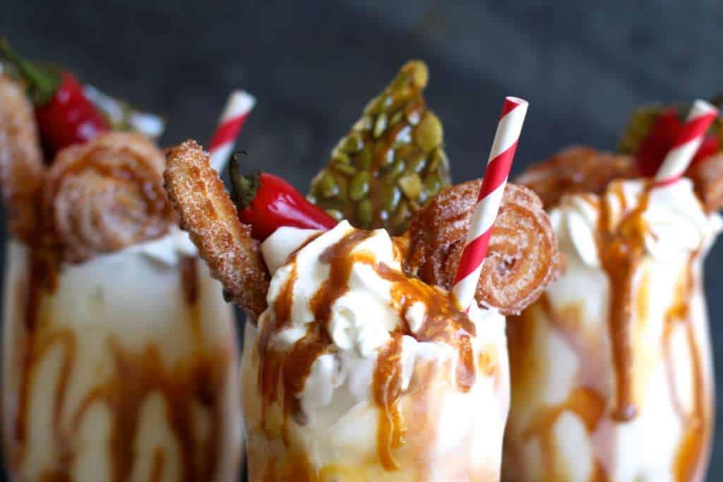 Extravagant Dulce de Leche Milkshakes