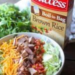 Steak Taco Bowls with Cilantro Lime Rice