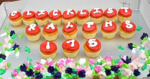 Click List Cupcakes