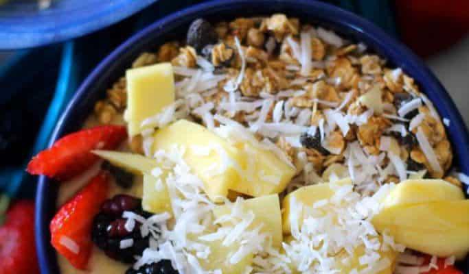 Mango Lassi Breakfast Bowls