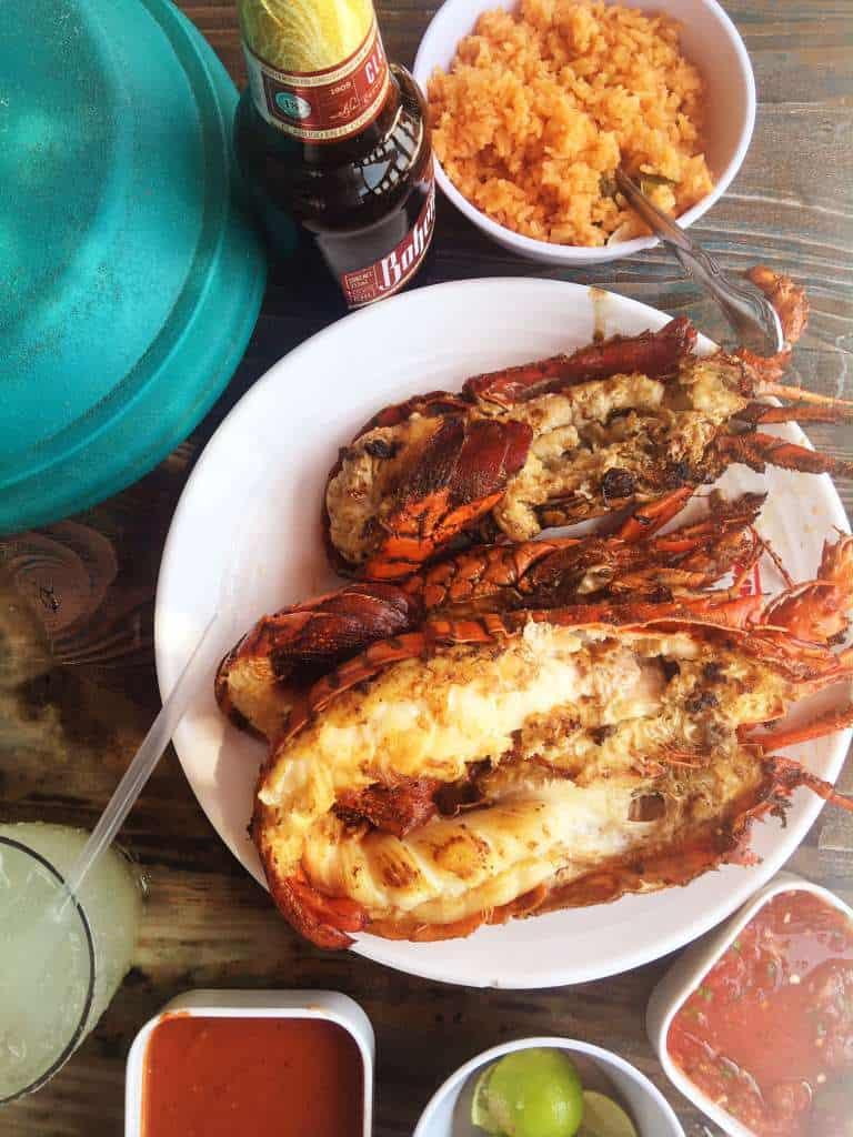 Lobster in Puerto Vallarta