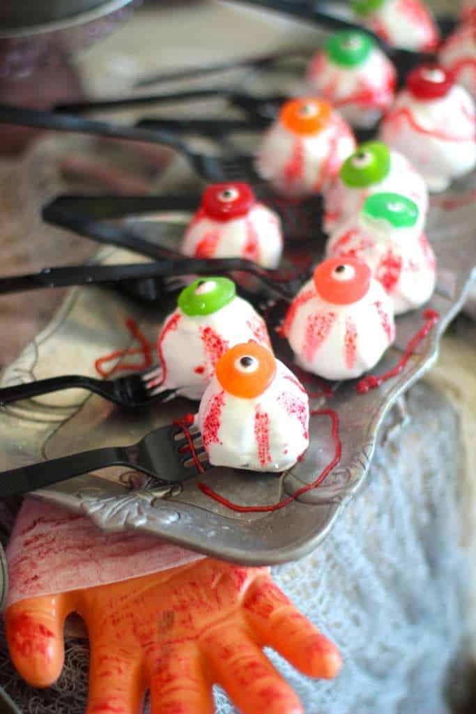 Zombie Eye Truffles