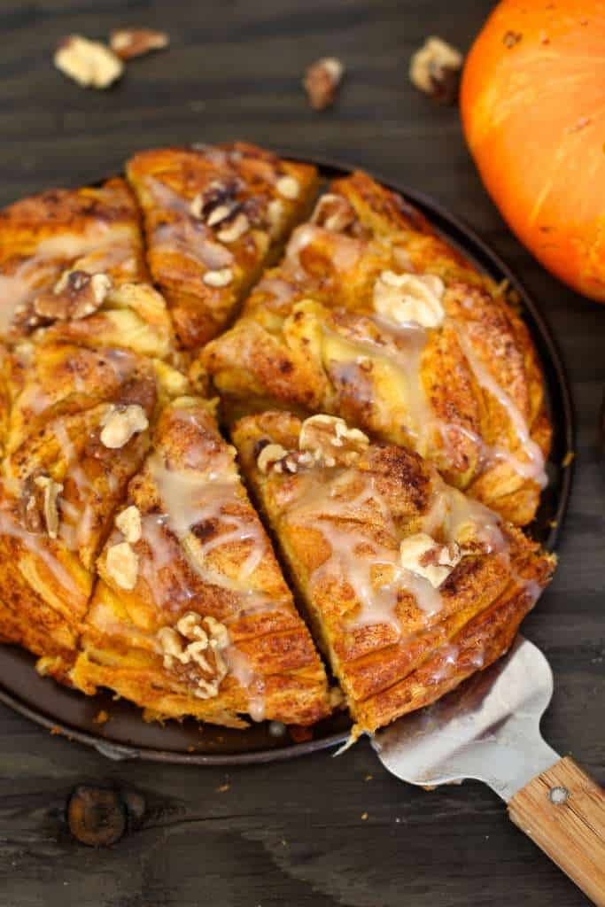 Pumpkin Crescent Bread