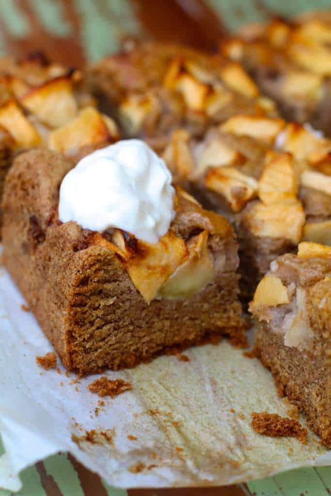 Quick and easy Apple Almond Cake