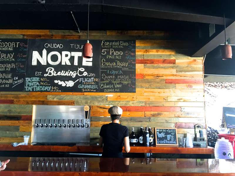 Norte Brewing Company Tijuana, Mexico