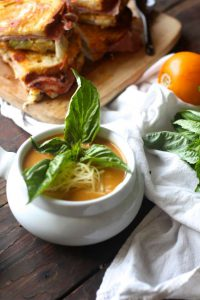 Easy Homemade Tomato Basil Soup