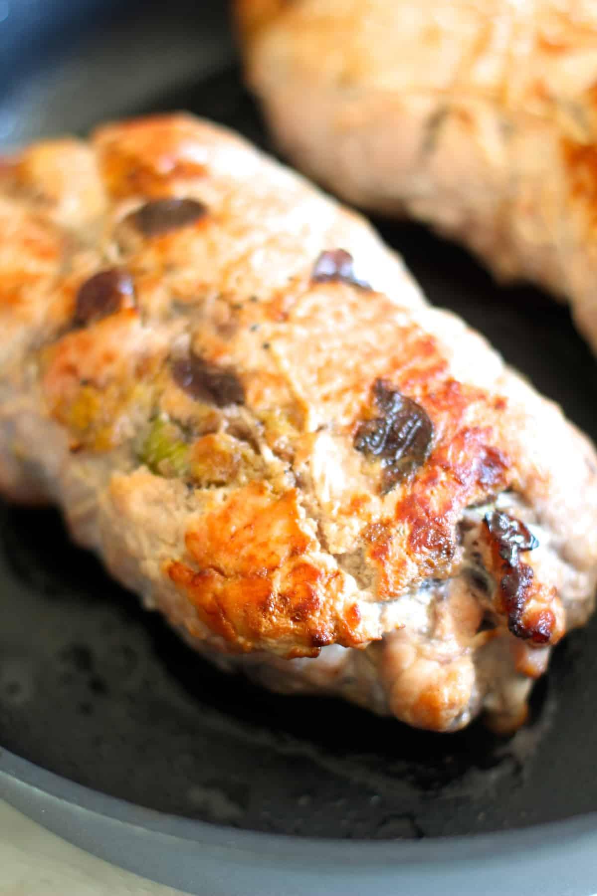 Seared Turkey Roulade