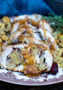 Thanksgiving Turkey Roulade