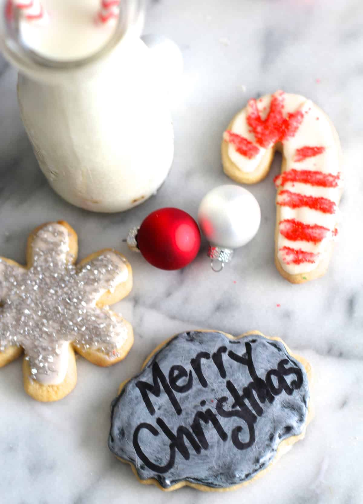 Personalized Chalkboard Cookies