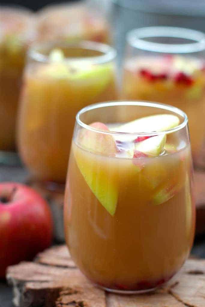 Easy Apple Cider Sangria