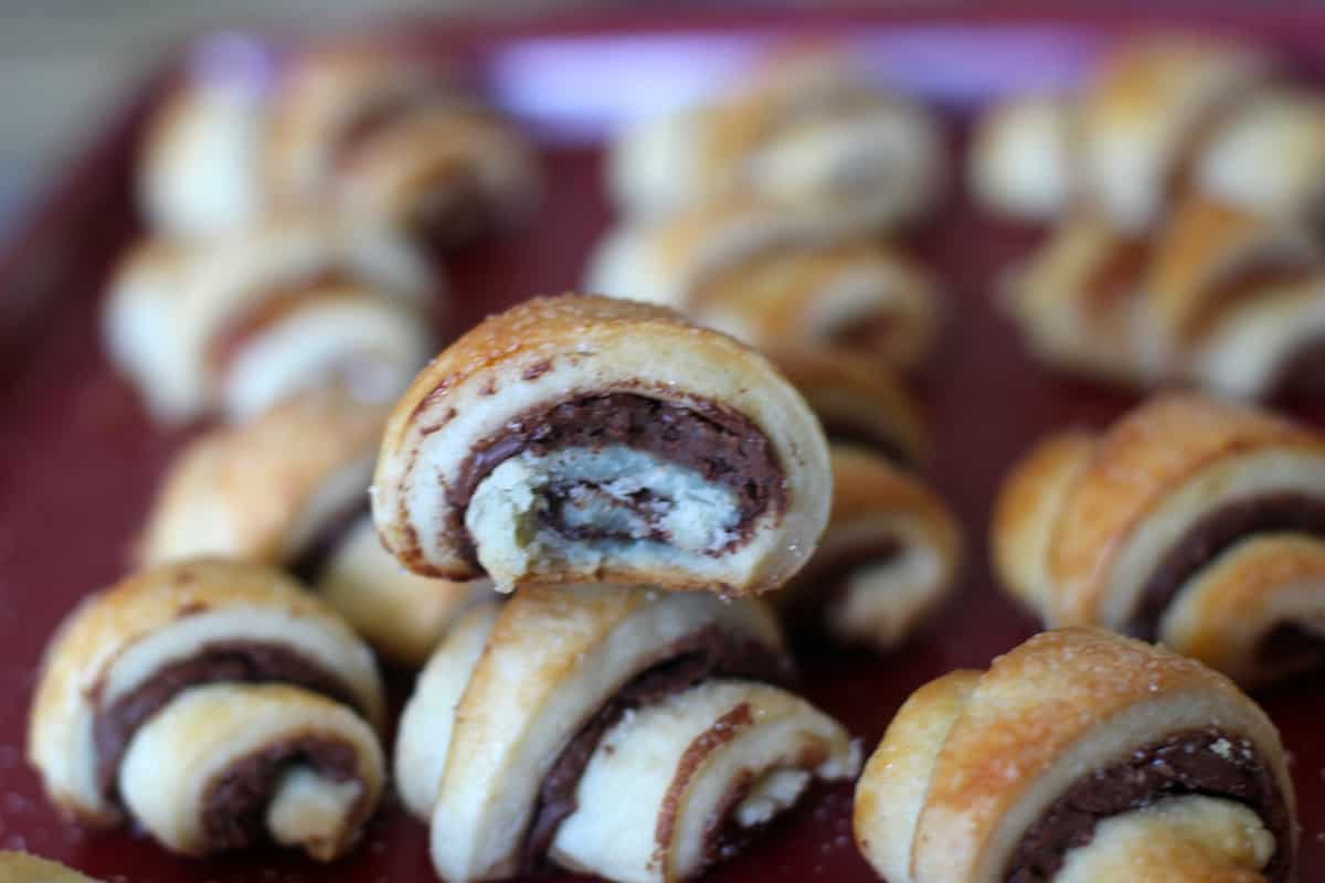 Perfectly buttery and flaky Rugelach