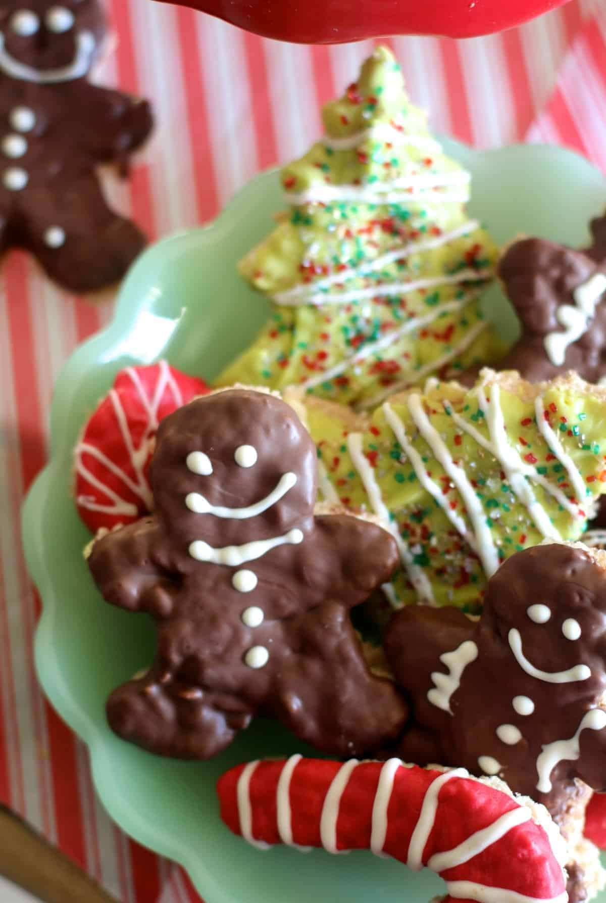 fun holiday rice krispie treats