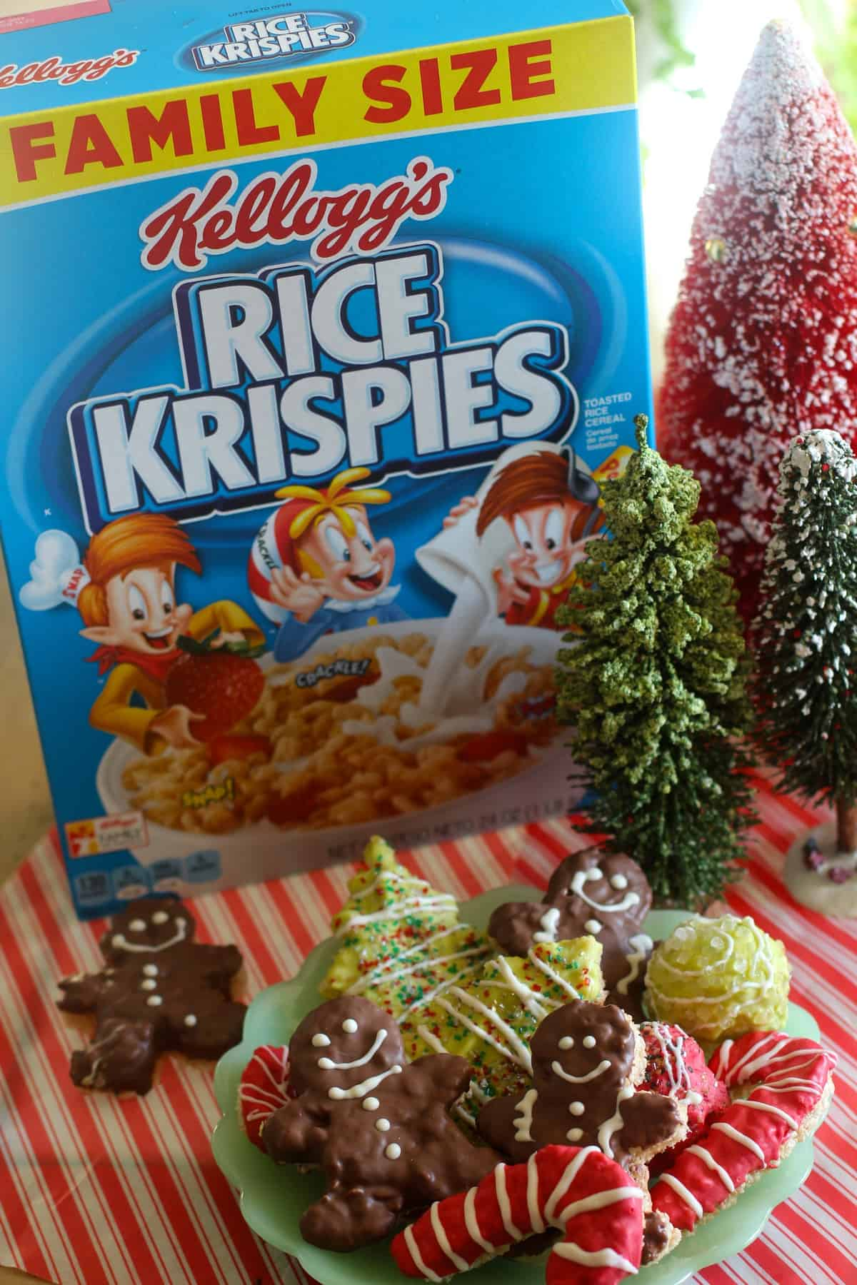 Rice Krispies Treats Holiday Cut-Outs
