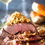 Herb Crusted Boneless Leg of Lamb