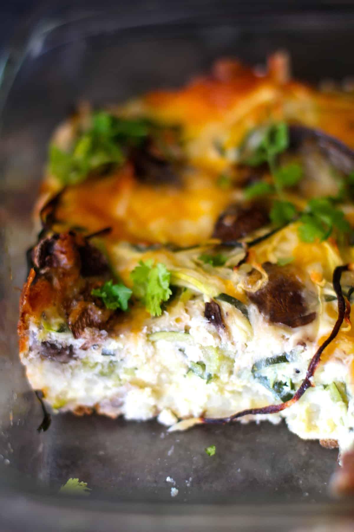 Spiralized Breakfast Bake