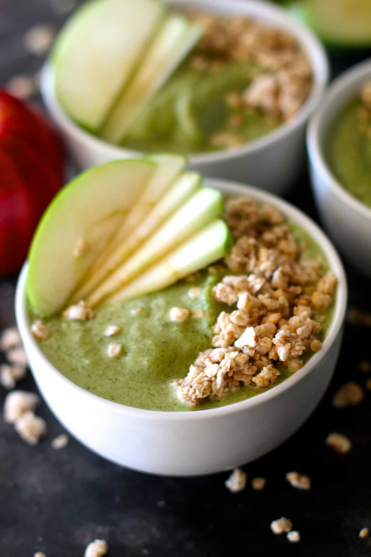 Apple Smoothie Breakfast Bowls