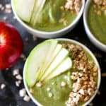 Apple Smoothie Bowls