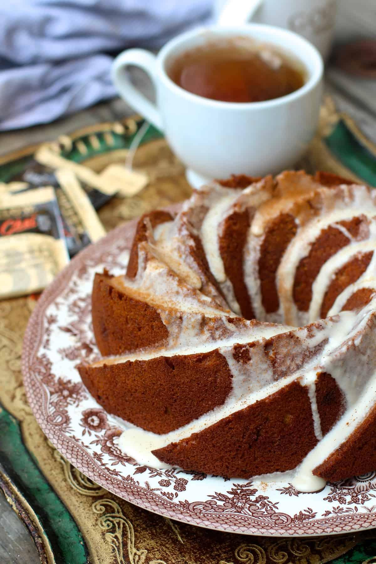 Vanilla Chai Bundt Cake