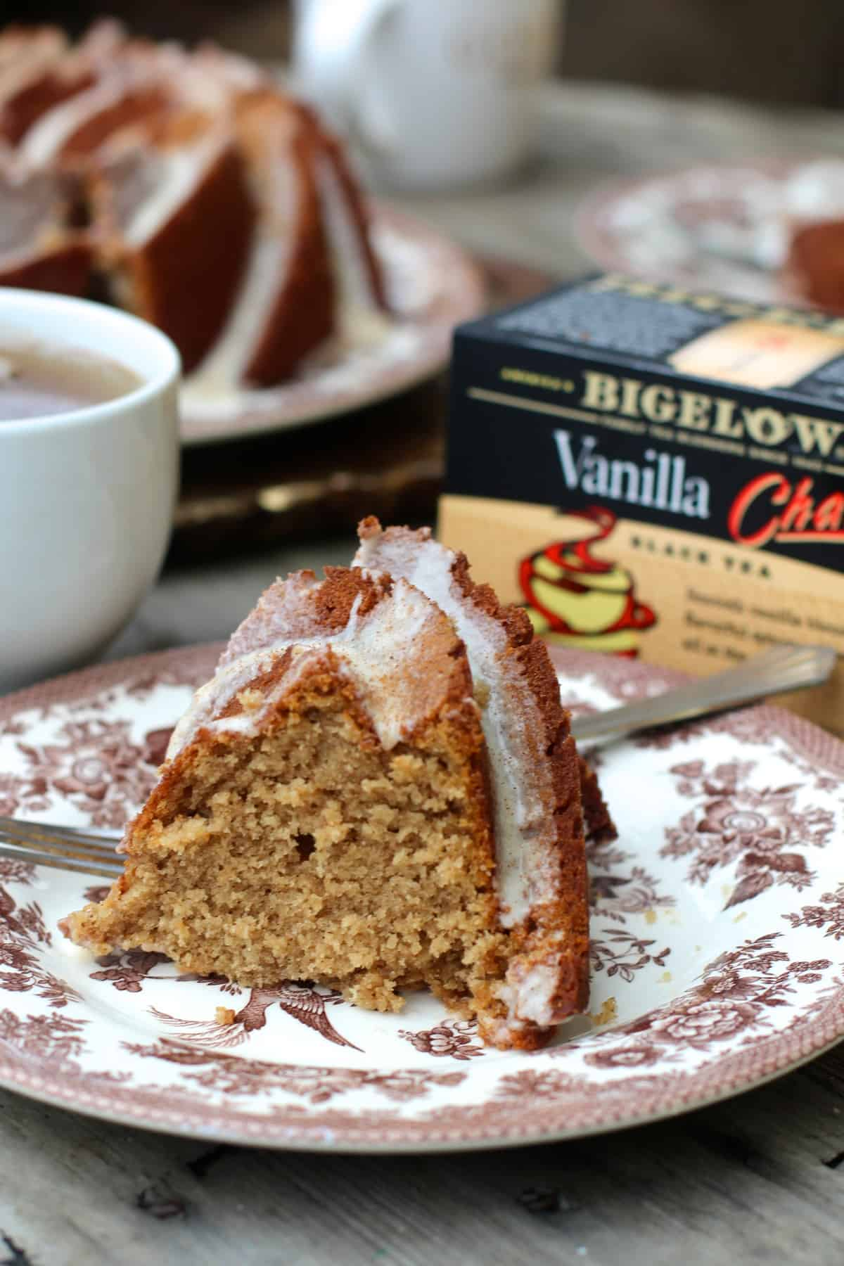 Bigelow Tea Vanilla Chai Bundt Cake