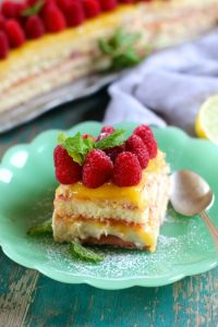 Raspberry Lemon Tiramisu