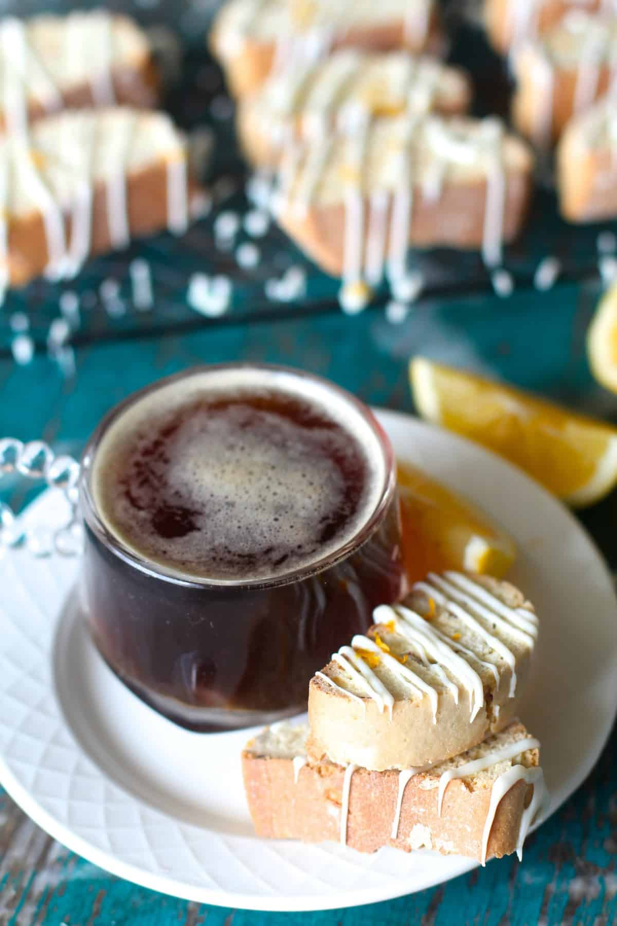 Almond Lemon Biscotti
