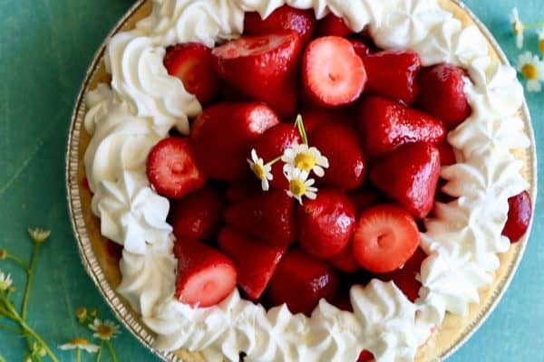 Fresh Strawberry Pie- the perfect Spring/Summer treat!
