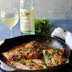 Lemon Garlic Pan Seared Salmon