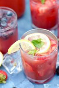 Strawberry Lemon Punch