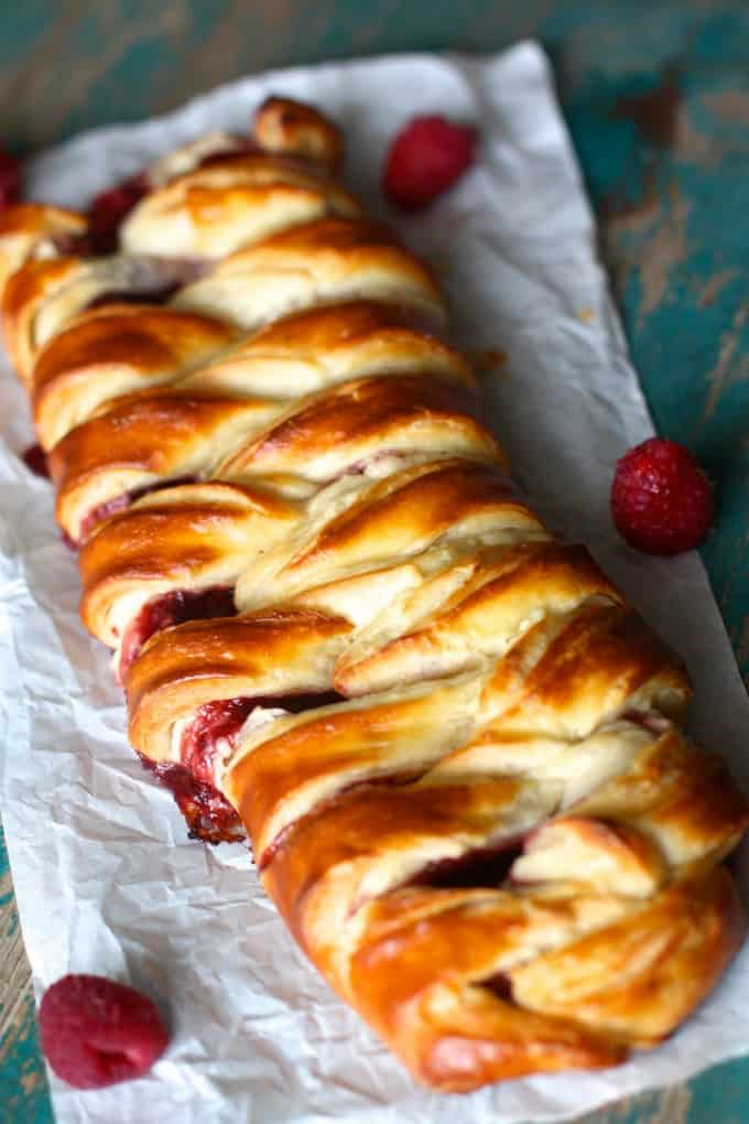 raspberry cream cheese danish