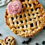 Boysenberry Pie- with All Butter Lattice Crust