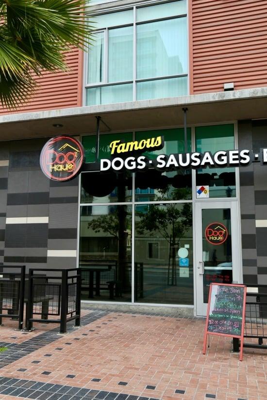 DogHaus restaurant downtown San Diego