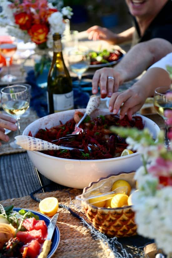 How to host the perfect summer crawfish party