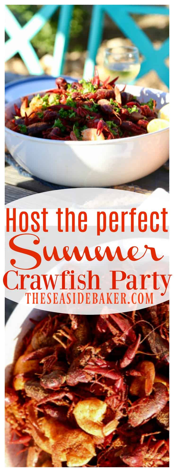 How to host the perfect summer crawfish party via @theseasidebaker