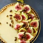 Fig Mascarpone Cream Tart