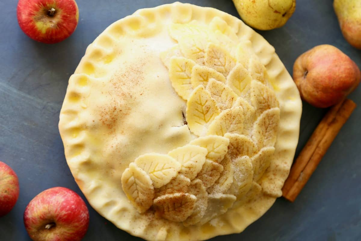 Apple-Pear Pie advise
